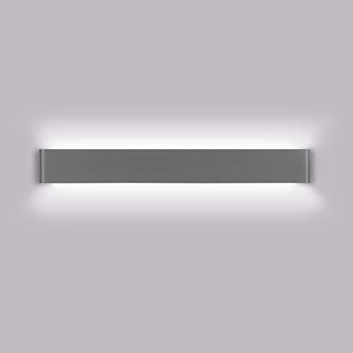 K-Bright Lámparas de pared LED, Lámpara de baño delantera con espejo de 20W, 61 CM,IP 44 Lámpara...