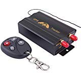 vehicle Car GPS Tracker 103B with Remote Control GSM Alarm SD Card slot anti-theft Realtime Spy Tracker GPS103B TK103B for GSM GPRS GPS System Tracking device 103B
