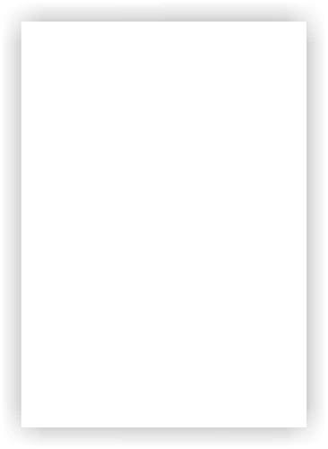 3er Set Magnet-Folie in DIN A4 I magnetisch, weiß beschichtet I beschreibbar bedruckbar I für Kfz Auto LKW I Lager-Schild I Tür-Schild I mag_112