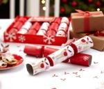 Rocking Rudolf Reindeer Christmas Luxury Crackers (Pack of 6) from CSC Imports
