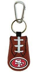 GameWear San Francisco 49ers Classic Football Keychain
