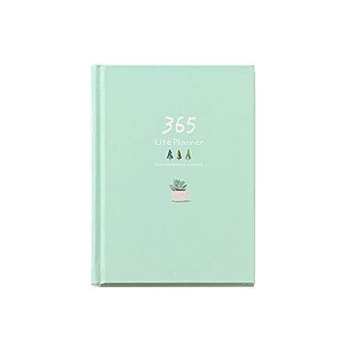 Agenda personale 365 giorni con copertina rigida, agenda 2019, agenda settimanale per ufficio