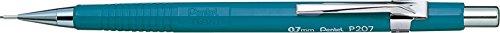 Pentel Xp207 - Portaminas (incluye 6 minas HB de 0,7 mm, goma), color azul