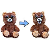 (William Mark Feisty Pets Sir Growls-A-Lot- Adorable Plush Stuffed Bear That Turns Feisty with a Squeeze, 8.5
