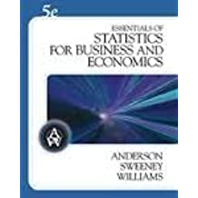 Essentials of Statistics For Business and Economics Fifth Edition