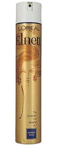 Loreal Elnett Satin (L´Oreal Paris Elnett Satin Hairspray (strong hold) 500 ml)