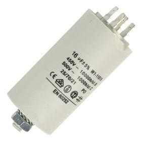 Fixapart W1-11016 Kondensator AC, zylindrisch, weiß (Kondensator Ac)