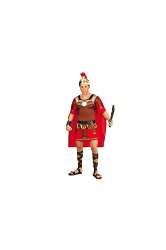 Römischer Soldat Centurio Karneval Party Motto Kostüm für Herren Braun Gold Gr. M - L , ()