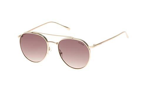 Guess Damen GF5019-5432F Sonnenbrille, Violett (Morado), 53.0