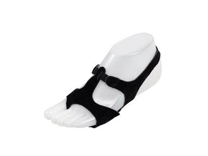 Lyrische Sandale black