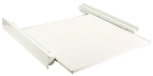TronicXL Zwischenboden Waschmaschine Trockner Gestell mit Arbeitsfläche Schublade zb kompatibel für AEG Miele Siemens -