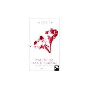 Tea Organic Rosehip Hibiscus 20 Bags by Hampstead Tea