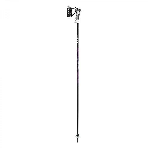 LEKI Damen Skistock Balance S, Base Color Black/Design: Cherry-White, 110 cm, 637-6815