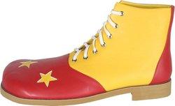 (Funtasma CLOWN-02 - Karneval Fasching Halloween Kostüm Schuhe, One-Size:One Size)
