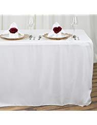 efavormart Spannbettlaken 8Füße Tischdecken elfenbeinfarben