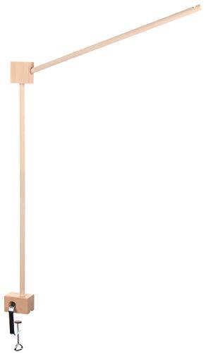 com-four® Mobilehalter aus Holz, Halterung für Baby-Betten und Wickel-Tische