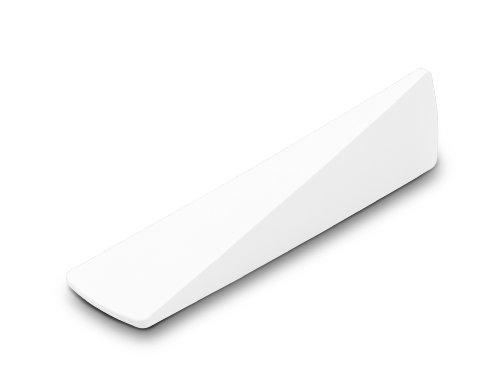 Authentics Cale 2 en 1 pour Porte et Fenêtre, Bloque-Fenêtre Porte, Plastique, Blanc, 1085556