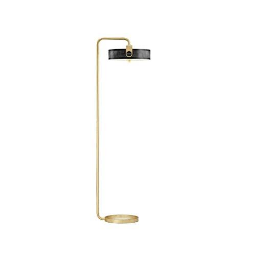Nordic Fashion Hohl Metall Stehleuchte LED Chip Kreative Wohnzimmer Schlafzimmer Vertikale Schwarze Stehleuchte 150x45 cm (Color : BLACK) -