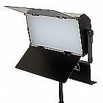 FotoQuantum FQVL-1100B/1100B LED Dimmbare Studio-Flachenleuchte (Dimmbare Farbtemperatur 3000-5500k) + Lampenstativ 2.6m + ColorQuantum...