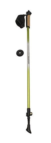 Columbus  - Bastones de esquí de Fondo, Color Verde/Gris, Talla One Size