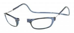 Reading Glasses Clic front connection glasses Blue Jeans-strength +1.50