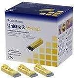 Unistik 3 Normal (Pack of 100 Lancets)