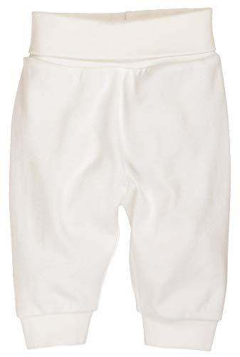 Schnizler Kinder Pump-Hose aus 100% Baumwolle, komfortable und hochwertige Baby-Hose mit elastischem Bauchumschlag, Beige (Natur 2), 62 Baby-hose Natur
