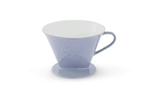 Friesland Kaffeefilter Gr. 4 Steingrau Porzellan