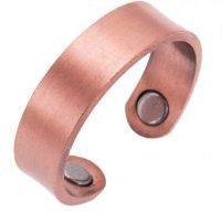 Kupferring - Magnetische Therapie Finger - 2 Arthritis-Magneten