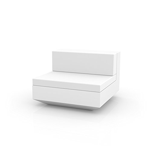 SOFA MODULO CENTRAL - BLANCO