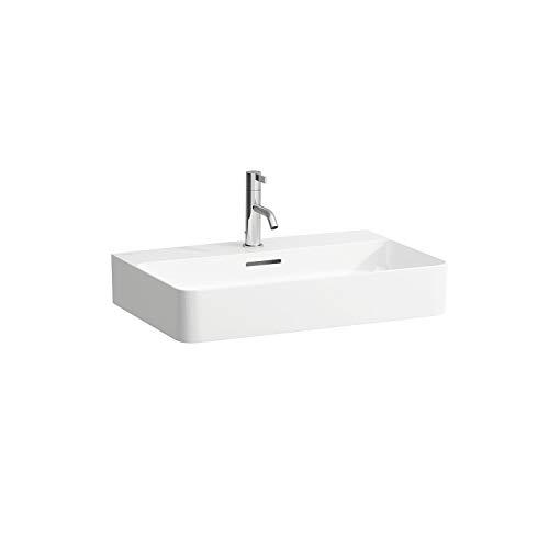 Laufen VAL Aufsatzwaschtisch, ohne Hahnloch, ohne Überlauf, US geschl. 650x420, weiß, Farbe: Weiß mit LCC