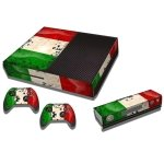 RISHIL WORLD Kuwait Flag Pattern Decal Stickers for Xbox One Game Console