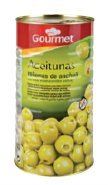Gourmet - Olives Farcies Aux Anchois Boîte 600 Grs - Lot De 2 Unités