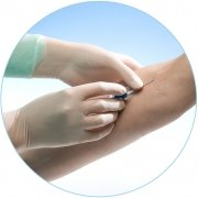 Meditrade 902175W Gentle Skin Premium OP Latex Handschuh, Steril, Puderfrei, Größe 7,5 (100-er pack)