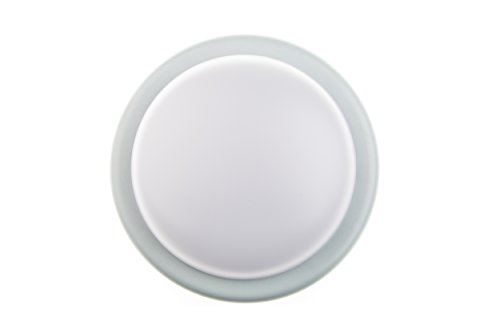 huber-led-lampada-da-parete-e-soffitto-rotonda-18-w-1400-lumen-molto-chiaro-38-led-s-moderno-grigio