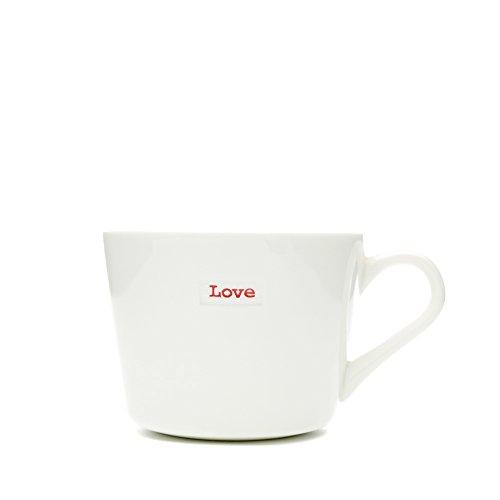 Keith Brymer Jones Mug Porcelaine-Super Love Mini Blanc