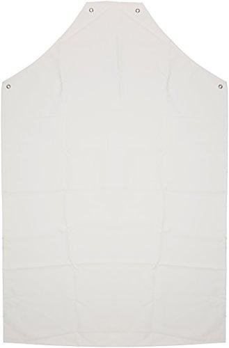 Prossor Prossor AP416 PVC-/Nylon-Schürze, 121,9 cm x 91,4 cm, Weiß.