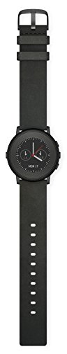 Pebble 601-00049 20 mm Time Round Smartwatch – Black