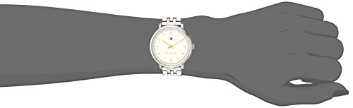 Tommy Hilfiger Women's 'SPORT' Quartz Stainless Steel Casual Watch, Color Silver-Toned (Model: 1781762)