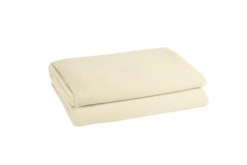ZOEPPRITZ Soft-Fleece Decke kitt, 160x200 cm