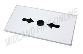 KAC Ersatz-Glas für Handfeuermelder, 10 Stück,von Midland Fire Online