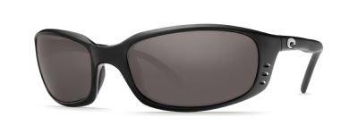 New Original Sunglasses Costa Del Mar BR BRINE 11 Men Black Sport 580P