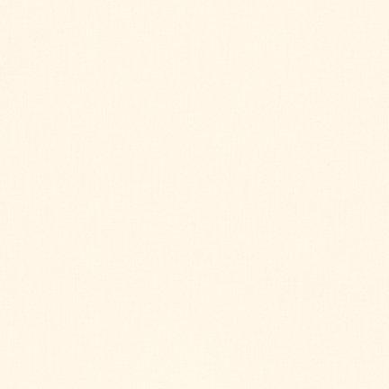 Robert Kaufman Kona Cotton (1Meter–Kona Baumwolle Feststoffe–Robert Kaufman–100% Baumwolle–Stoff–massiv Farben elfenbeinfarben)
