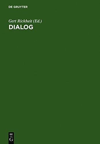 Dialog: Festschrift für Siegfried Grosse
