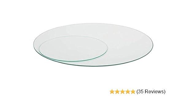 Glasscheibe Rund Kreis 4mm Satiniertes Glas Runde Glasplatte Glasscheibe 15 cm /Ø