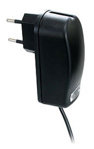 Topp-Design ME-DL-L226 Reiseladegerät schwarz für Samsung SGH-D730