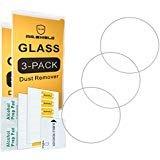 Herr Schild für Garmin Forerunner 735XT/735x T–ESG Glas–Displayschutzfolie–0,3mm Ultra Dünn 9H Härte 2.5D Round Edge–3er Pack