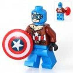 Capitán América inspirado en LEGO