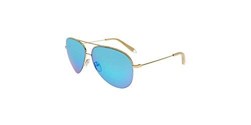 Victoria Beckham - CLASSIC VICTORIA XS P SKY VBS106, Pilot (tropfenförmig) Metall Damenbrillen