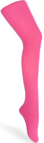 Merry Style Kinder Strumpfhose für Mädchen Microfaser 60 DEN (Fuchsia, 128-134)